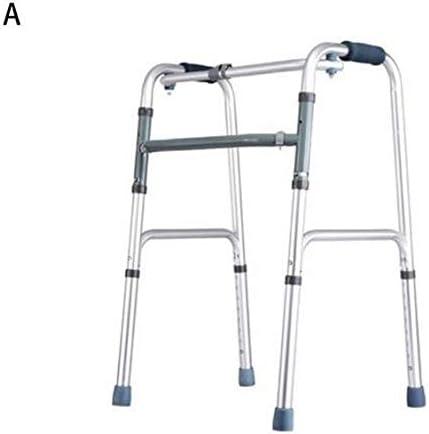 身体障害者用4脚松葉杖老人用歩行器アームレストブラケット高齢者歩行骨折歩行,A