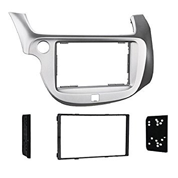 Metra 2009-2013 Honda Fit Dash Kit Double Din for Radio Install Silver
