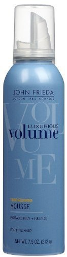 John Frieda Collection Luxurious Volume Perfectly Full Mousse 7.50 oz (Pack of 2)