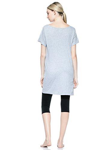 Cotonella Pijama Maxi Camiseta + Leggins Gris/Negro M: Amazon.es: Ropa y accesorios