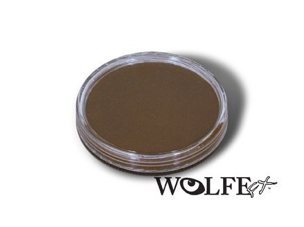 Wolfe FX SADDLE BROWN 019 30g Cake - Hydrocolor Face and Body Paint - Hydrocolor Makeup