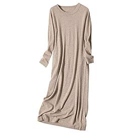 YUYUBAOER Early Spring Ladies Plus Fleece Dress Women's Knitted Skirt Cotton Fleece Slim Long Sleeve High Elastic Skirt Fashion Glamour Female Dress