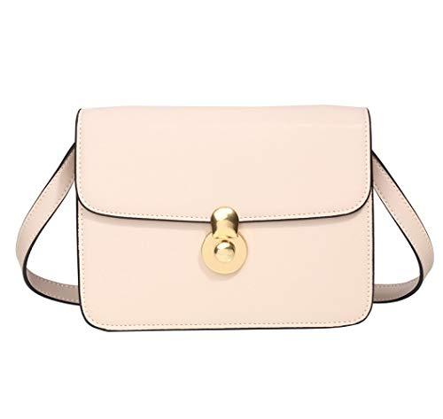 piccola e a minimalista spalla beige con in borsa retro Elegante con catena catena Piccolo da Flht minimalista da marea donna Borsa pelle retro Z7wEqfT6TO