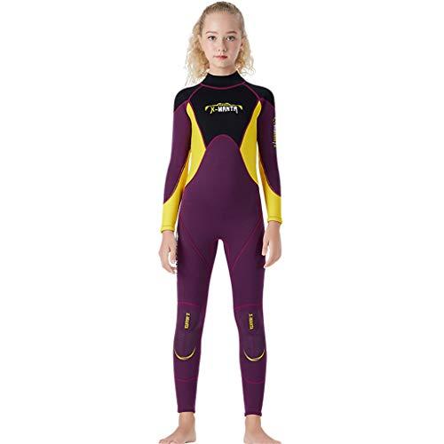 - Kids Scuba One-piece Diving Suit Neoprene Snorkeling Wetsuit Surfing Swimwear