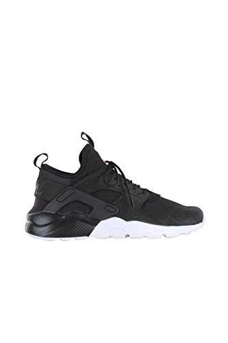 Nike Air Huarache Run Ultra Prm Gs, Zapatillas De Running para Hombre Negro (Black / Black-University Red-White)