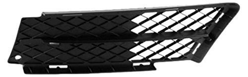 DAT 06 - 08 BMW SERIES 3 SEDAN 3.0 LITER WITHOUT M-PACKAGE FRONT BUMPER GRILLE LEFT DRIVER SIDE (Sedan Bumper Package)