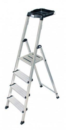 KRAUSE Stufen-Stehleiter Secury 4