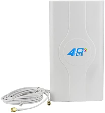 Antena LF-ANT4G01 interior de 88 dBi 4 G LTE MIMO con 2 metros de hilo, SMA Port