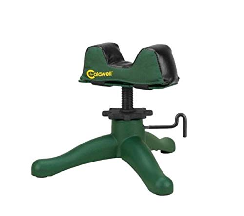 Caldwell The Rock Deluxe Front Rest Adjustable Ambidextrous Rifle Shooting Rest for Outdoor Range