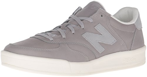 New Balance Mens Crt300 Classic Court Fashion Sneaker Grigio