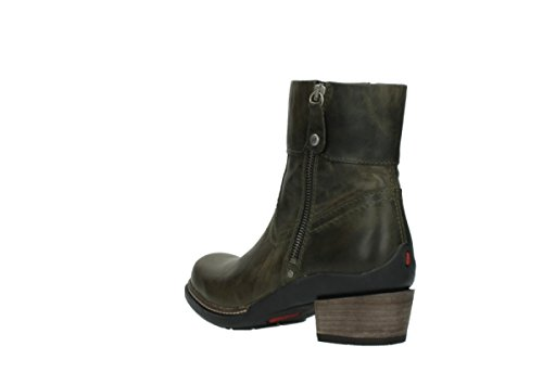 Forest green 00478 Bottes 80730 Leather Comfort Wolky nbsp;arriba XxqvOwP7nT