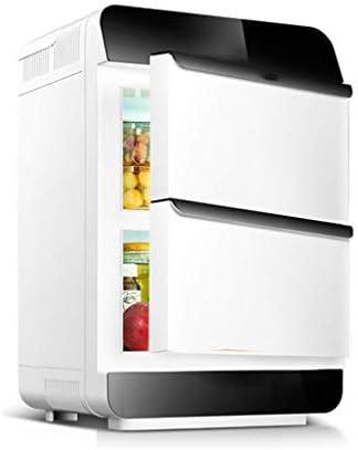 省エネミニ冷蔵庫電気クーラーとウォーマー(28リットル):AC/DCポータブル熱電システム(2ドア)