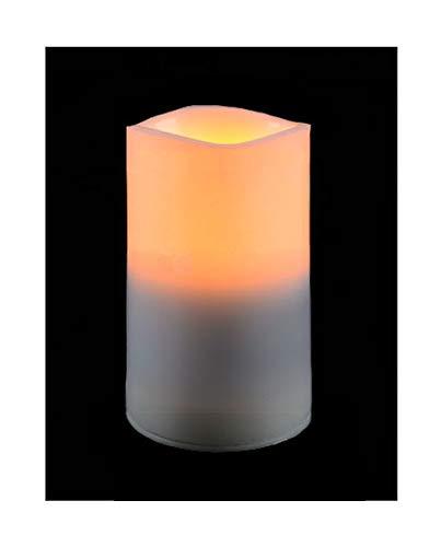 ♥ LED Grablicht GRABKERZE FLACKERND WARMWEISS ↑13xØ7cm FÜR GRABLATERNE Laterne GRABSCHMUCK GRABLAMPE GRABLEUCHTE Lampe