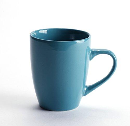 LEANDALE Aaron Bistro Ceramic Coffee Tea Mug Cup Set 12 OZ ...