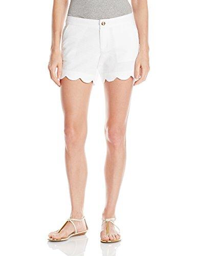 Lilly Pulitzer Women's Buttercup Short, Resort White, 12