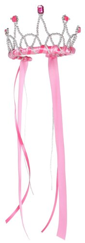 Great Ribbon (Great Pretenders Dark Pink Ribbon Tiara (One Size))