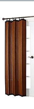 Versailles Home Fashions Indoor/Outdoor Bamboo Panel, 72-Inch, Espresso BRP124072-93