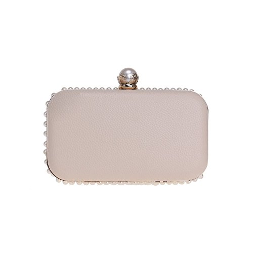 Europe Bag HKC America Embroidered Pearl Color Bag 1 1 Evening And Women's Dinner Lady Bag Clutch Bag wWxBW5n