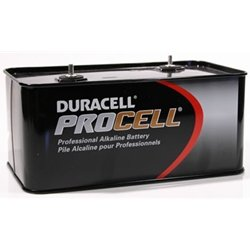 Lantern Battery, Alkaline, 7.5V, Screw Term by Duracell