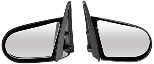 Spec-D Tuning RMS-CV963-M Honda Civic Ex Dx Lx 2 3 Door Manual Spoon Side Mirrors Black