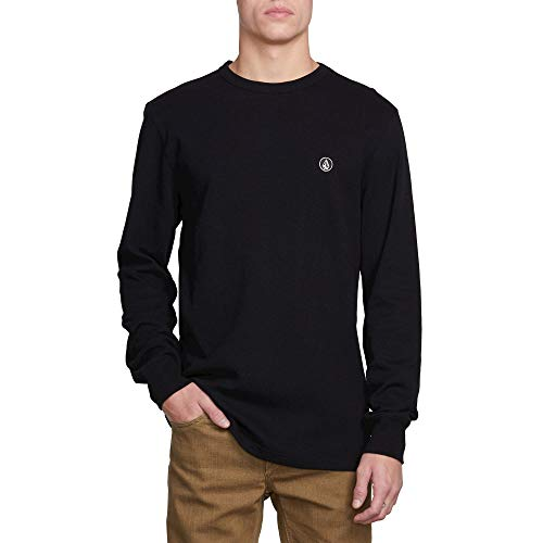 Volcom Men's Juan Largo Long Sleeve Thermal Shirt Black (Volcom Skateboard)