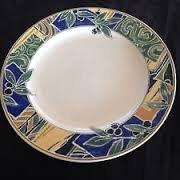 12 Chop Plate Round Platter - Mikasa Olive Grove 12