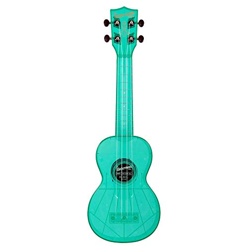 (Kala Waterman Soprano Ukulele Fluorescent Blue)