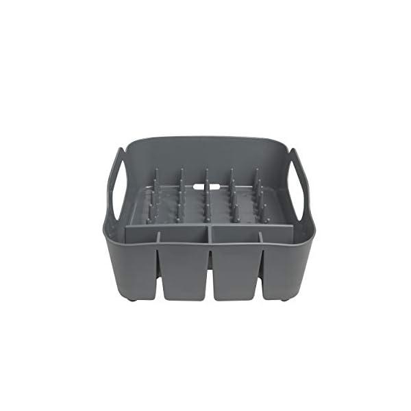 31hGaIGM%2BYL Umbra Tub Geschirr Abtropfgestell – Abtropfkorb mit integriertem Tropfwasserabfluß für Ihre Spüle oder Arbeitsfläche in…