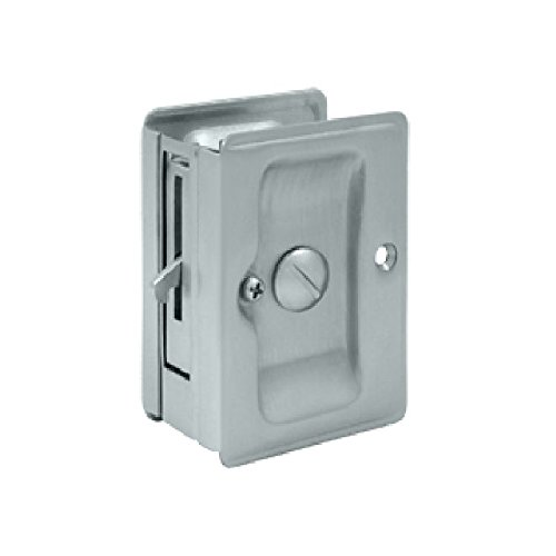 Deltana SDLA325U26D Adjustable 3 1/4-Inch x 2 1/4-Inch Privacy HD Pocket Locks ()