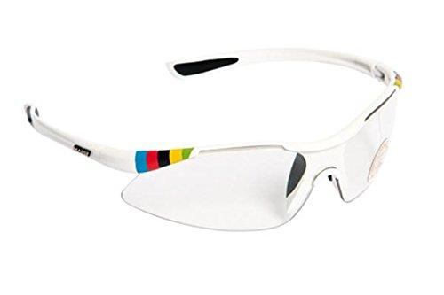 SH + RG 4701, lunettes Mixte adulte M blanc/bleu