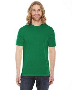 American Apparel BB401W Unisex Poly-Cotton Crew Neck T-Shirt Kelly Green L