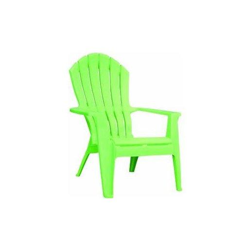 Adams 8371-08-3700 Resin Ergo Adirondack Chair, Summer Green Adams Mfg Co.