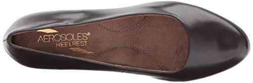 Aerosoles Women's Shore Thing Dress Pump Dark Brown Leather for cheap for sale buy cheap low shipping sale shop offer best place TKGfcAAiw