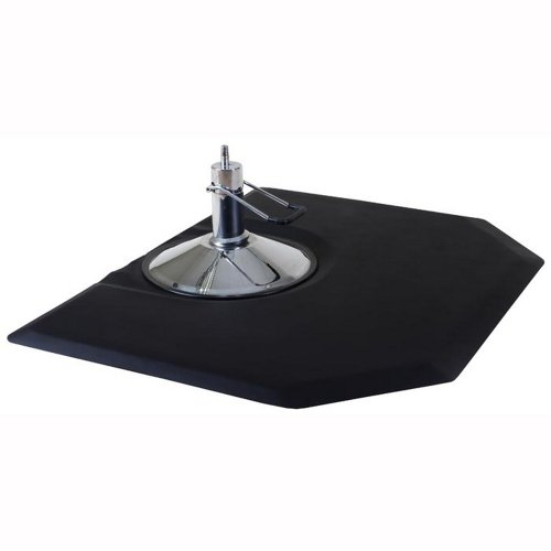 Comfy Mat Hexagon 1'' Anti Fatigue Beauty Salon Floor Mat by Comfy Mat