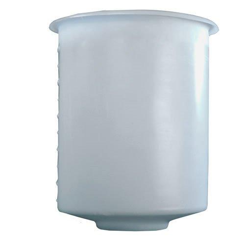 11inch Dia x 14inch High Tamco Industries 5 Gallon Domed Bottom Polyethylene Tank