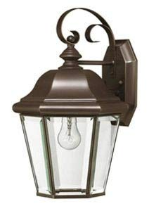 Hinkley 2423CB Traditional One Light Wall Mount from Clifton Park collection in Copperfinish,