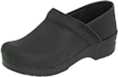 (Dansko Women's Wide Pro Clog, Black Oiled, 41 W EU (10-5-11 US))