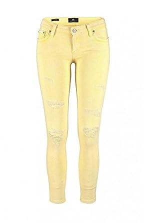 LTB Jeans Jeans - Femme Jaune Jaune  Amazon.fr  Vêtements et accessoires d726b504ca6