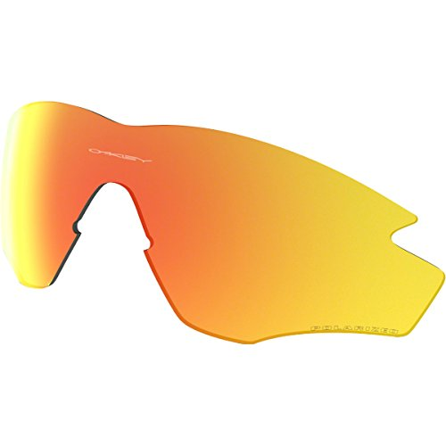 Oakley M2 Replacement Lens Sunglass Accessories - Fire Iridium Polarized/One ()