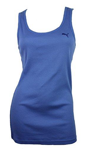 Puma Womens Sport Lifestyle Cat Boy Ribbed Tank Top Shirt
