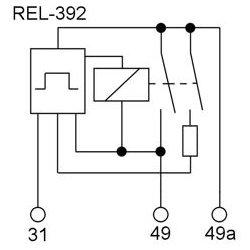 Oilhead F /& G ; 61 31 1 244 392 Hazard /& Turn Signal Relay Compatible with BMW R Airhead Hexhead
