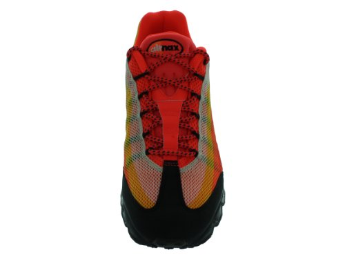 Nike Menns Air Max 95 Dyn Fw, Total Rød / Mid Turkis / Svart / Totalt Orange Orange
