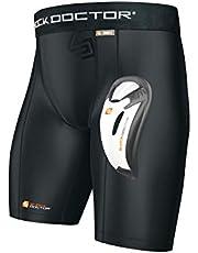 Shock Doctor Core Compression Bioflex Cup - Pantalones Cortos para Atletismo Niños