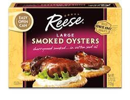 Reese Large Smoked Oysters Easy product image