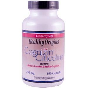 HEALTHY ORIGINS COGNIZIN(CITICOLINE)250MG, 150 CAP by Healthy Origins