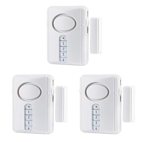 GE Deluxe Wireless Door Alarm, 3-Pack, 120
