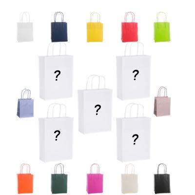 10 Bolsas de papel kraft de 110 g/m², 14 x 9 x 20 cm, 14 ...
