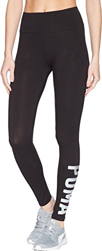 PUMA Women's Swagger Leggings, Black/Irridescent, M - Puma Tights
