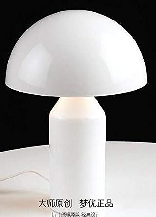 HNZZN Lámpara de mesa de hongo de diseño de Italia brújulas ...