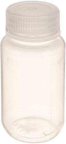 (United Scientific 33307 Polypropylene Wide Mouth Reagent Bottles, 125ml Capacity (Pack of 12))